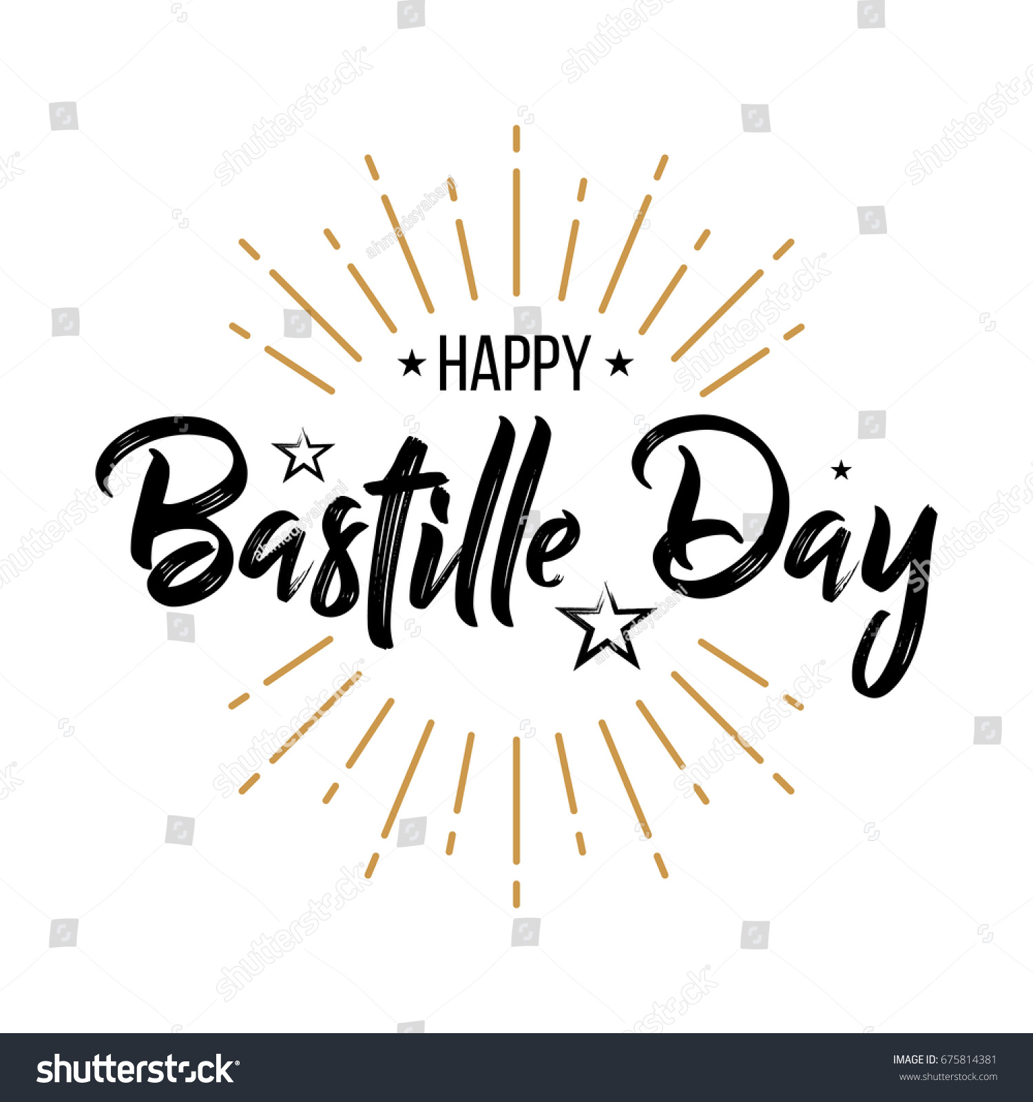 Happy bastille day vintage perfect advertising stock vector 2018 happy bastille day vintage perfect for advertising poster or greeting card for the m4hsunfo