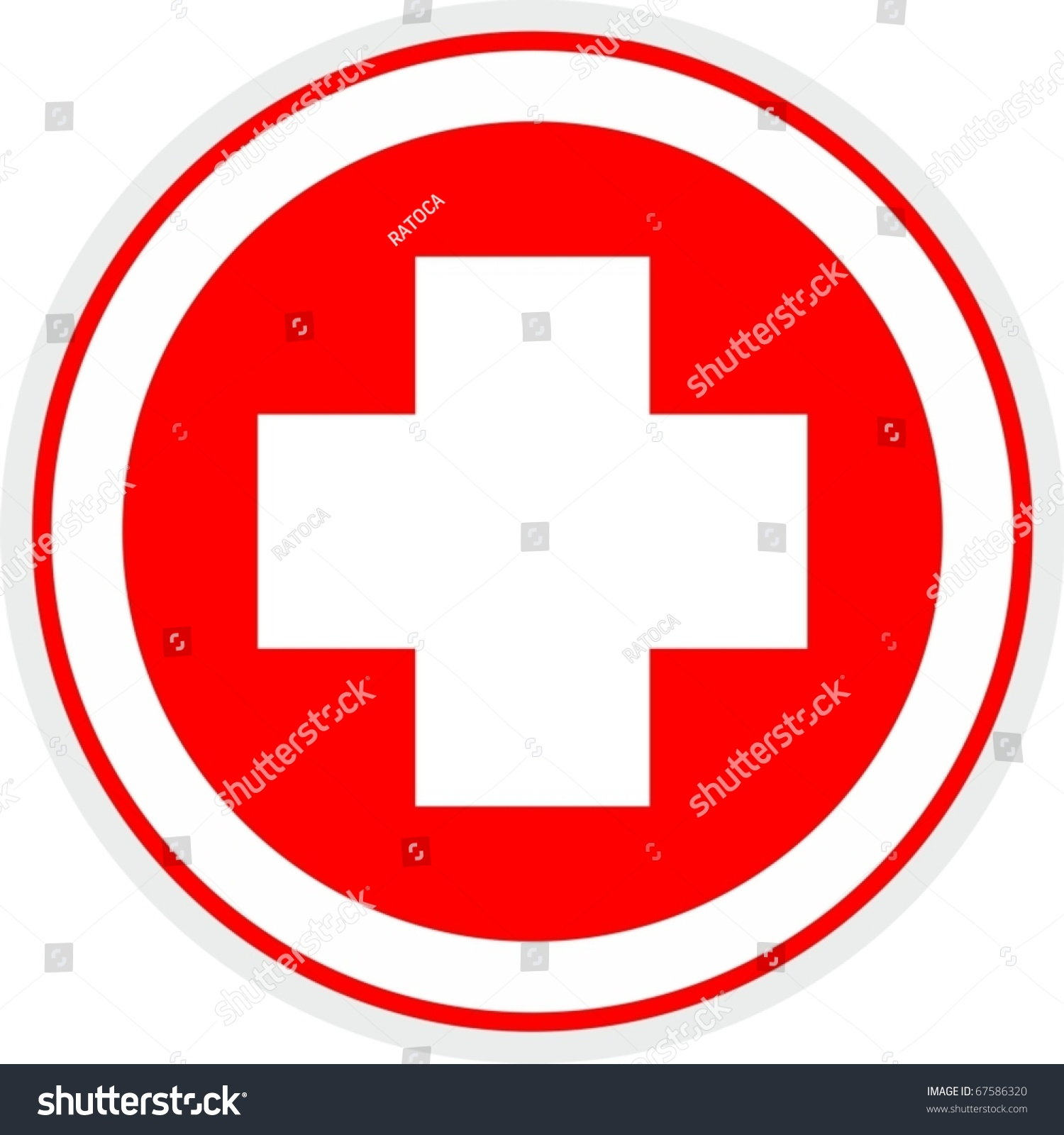 Cross Circle Symbol
