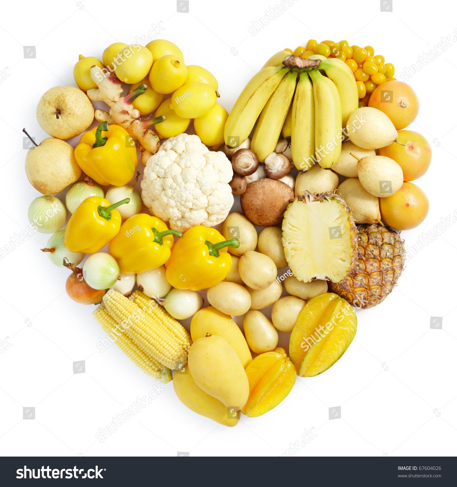 Желтые овощи и фрукты фотографии 6