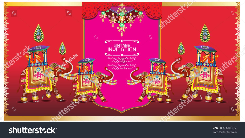 Hindu Wedding Knot Tied Man Woman Stock Vector 676408432 - Shutterstock