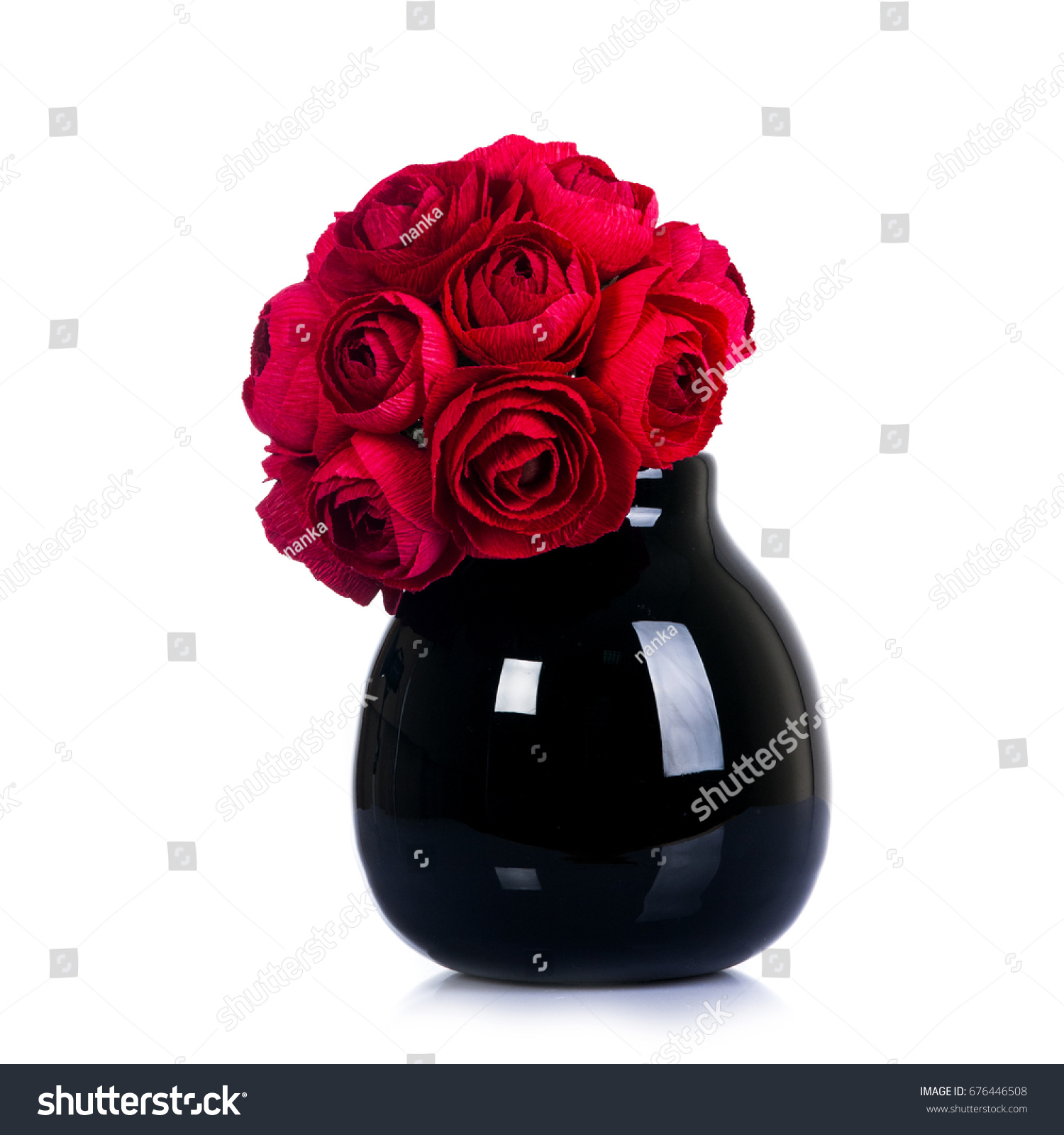 Paper Floral Art Bouquet Decorative Hand Stock Photo Edit Now