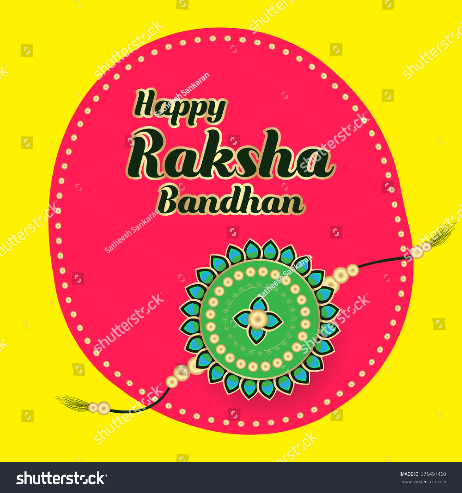 Creative raksha bandhan greetings vector illustration stock vector creative raksha bandhan greetings vector illustration for posters banners and print raksha bandhan is kristyandbryce Image collections