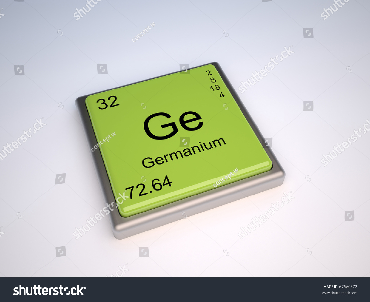 Germanium chemical element periodic table symbol stock germanium chemical element of the periodic table with symbol ge gamestrikefo Gallery