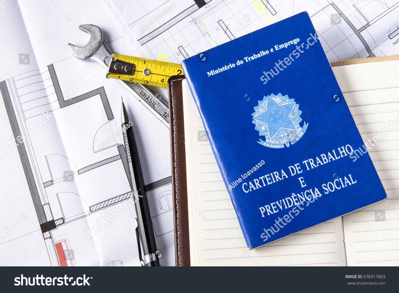Brazil work document blueprint brazilian engineer stock photo brazil work document blueprint brazilian engineer malvernweather Image collections