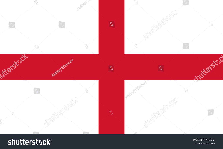 stgeorge england flag vector stock vector 677064064 shutterstock