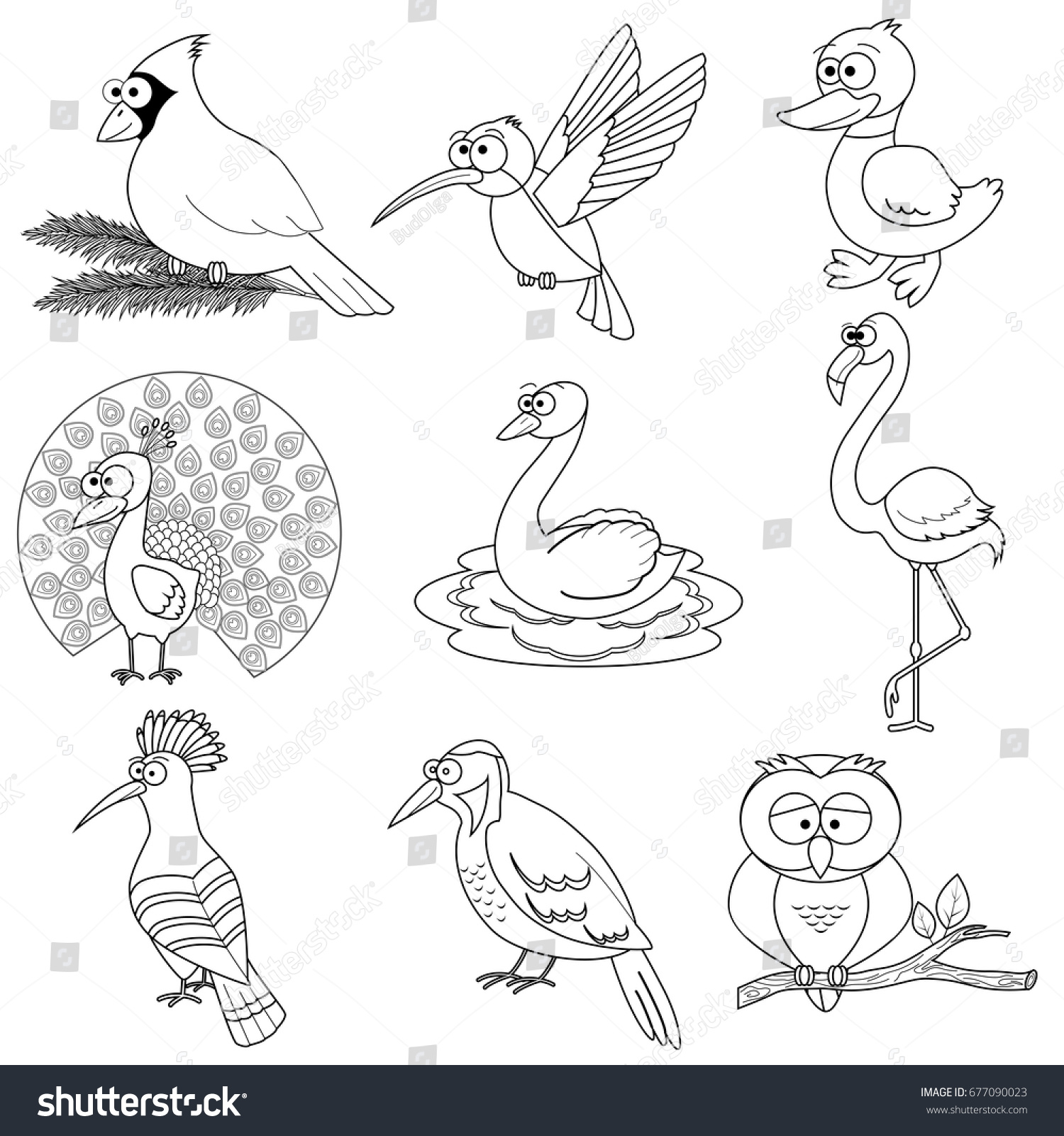 Bird Coloring Pages For Preschoolers - Coloring Home | 1600x1500
