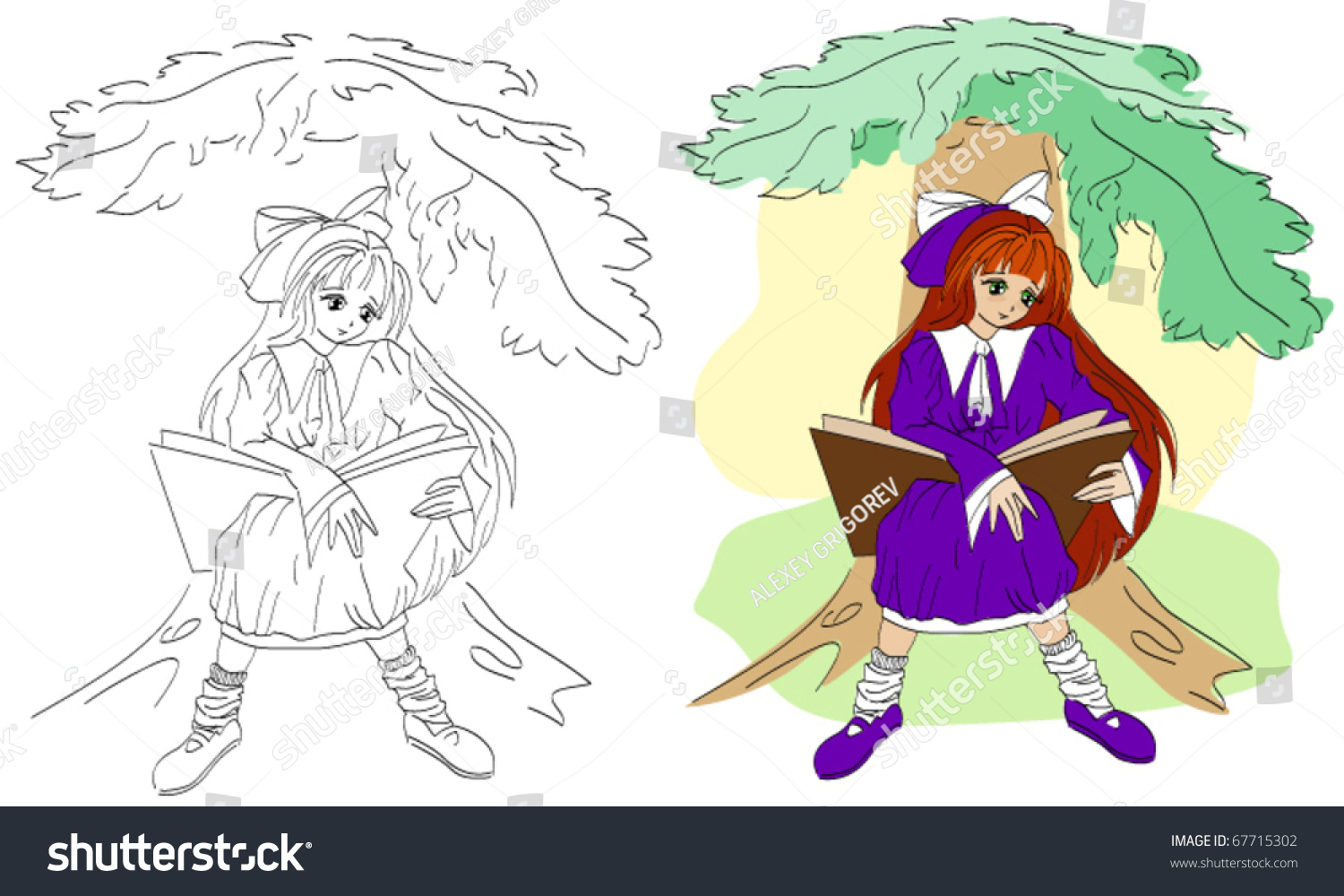 stock vector anime girl reading open book coloring illustration in vector format 67715302 together with a girl reading a book coloring page free printable coloring pages on girl reading a book coloring further girl reading coloring page for kids free printable picture on girl reading a book coloring including people and places coloring pages boy and girl coloring free on girl reading a book coloring also girl reading with blocks school coloring pages free printable on girl reading a book coloring