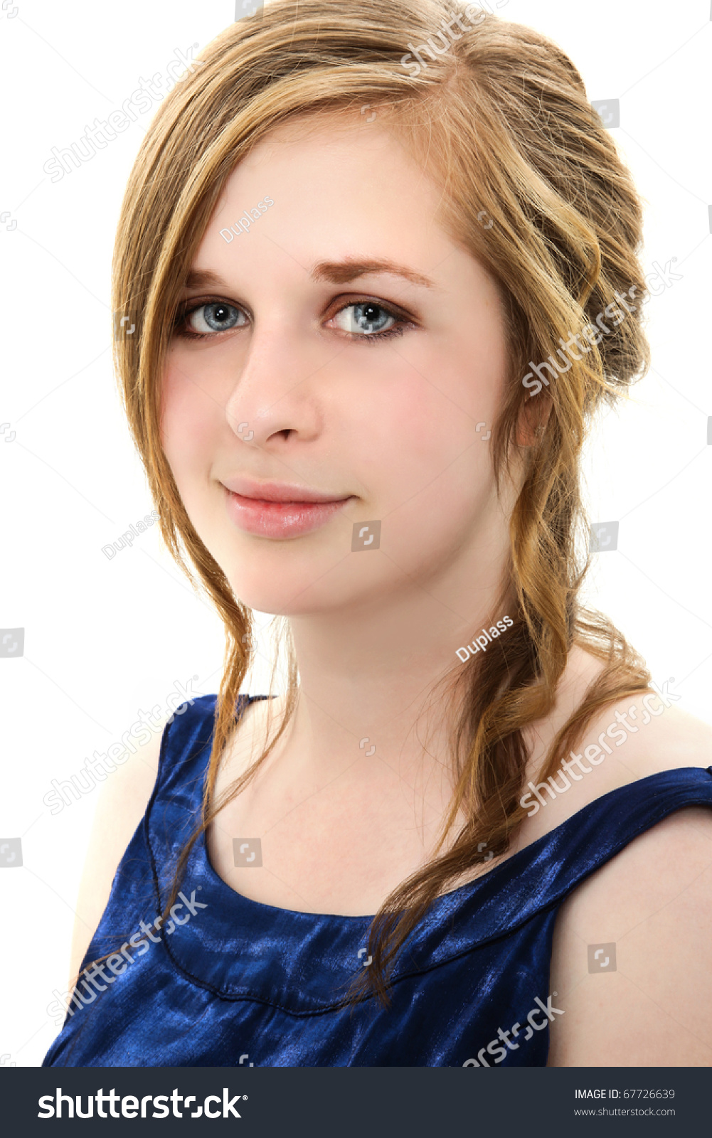 Beautiful 18 Year Old Girl Prom Stock Photo 67726639 - Shutterstock-4523