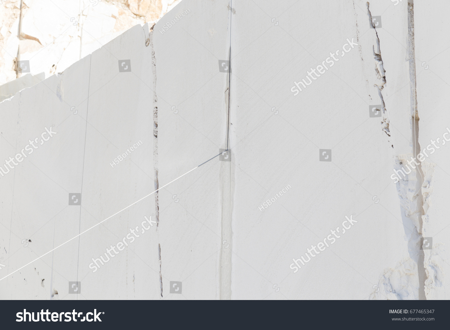 Diamond Wire Saw Marble Quarry Mostly Stock Photo & Image (Royalty ...