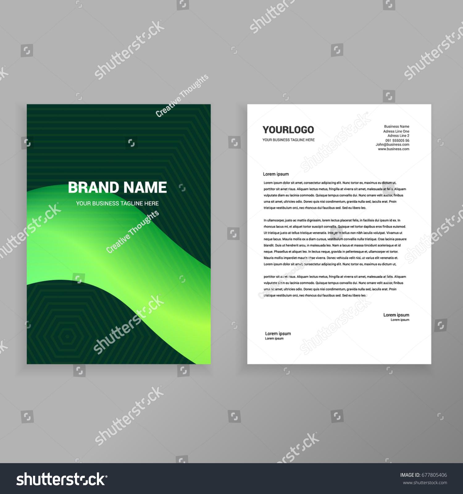 elegant letterhead template