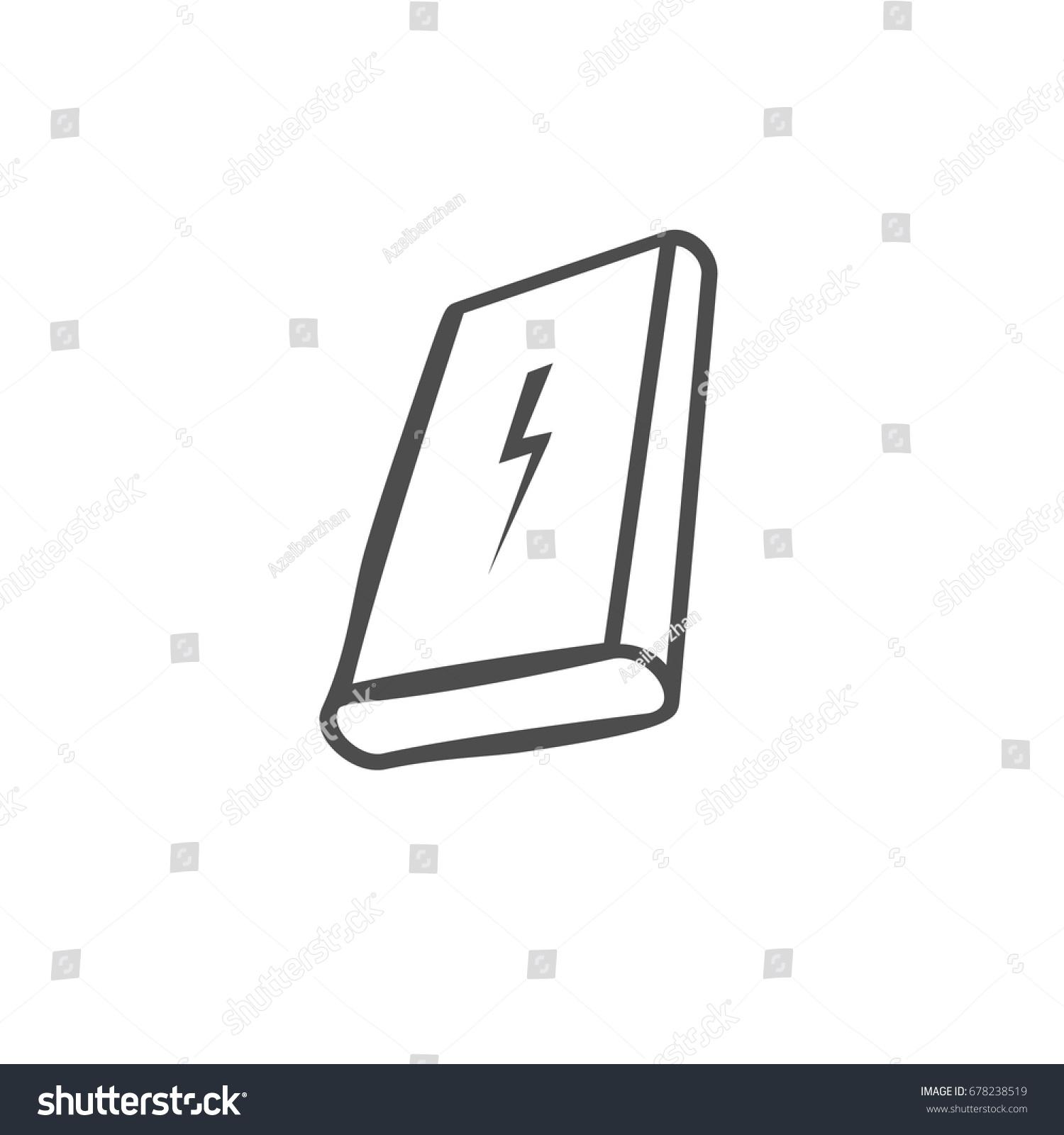 Power bank icon portable charging device stock vector 678238519 power bank icon portable charging device vector illustration buycottarizona Images