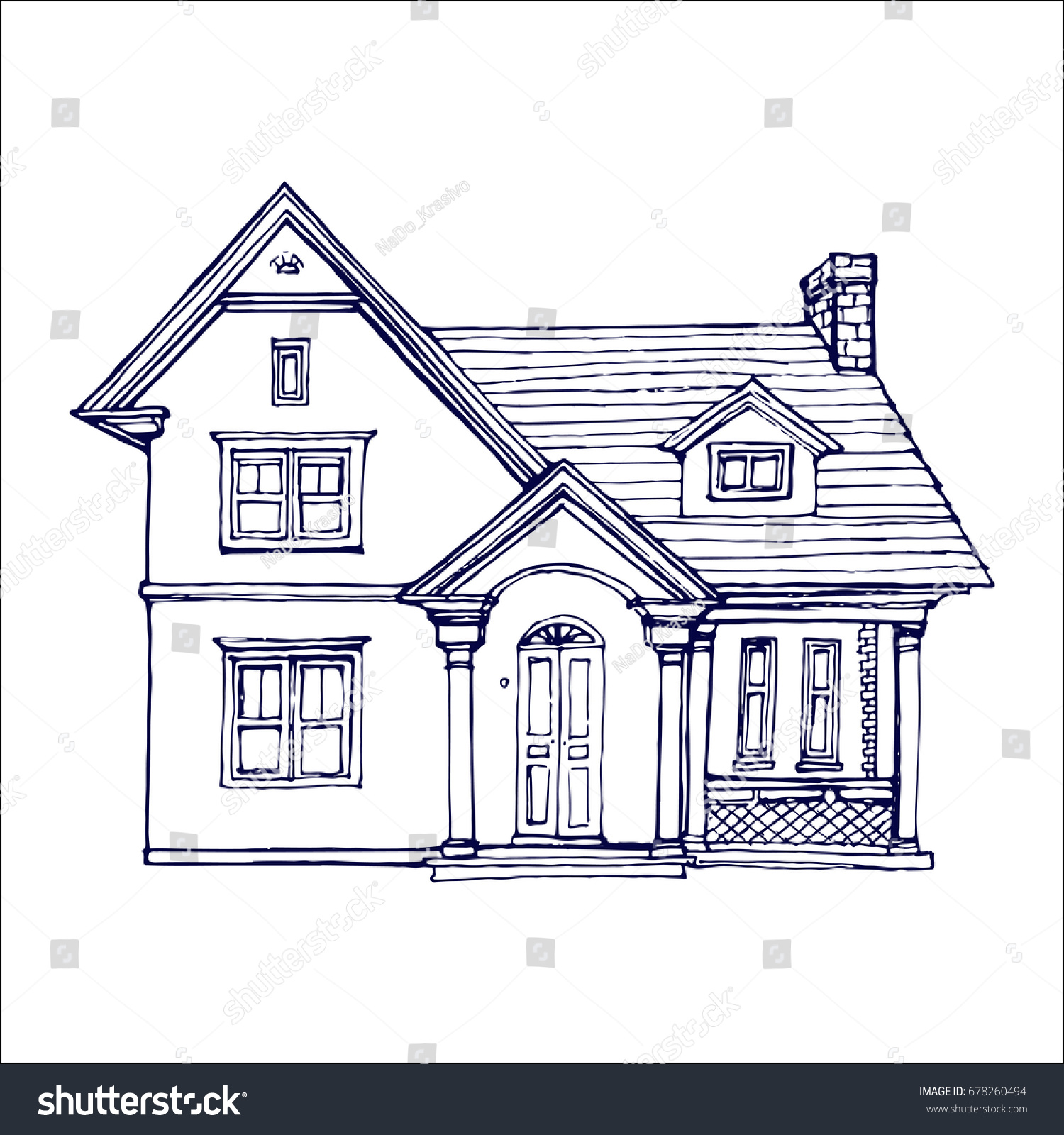 Little House Coloring Book | Coloring Pages