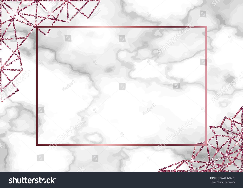 Image Vectorielle De Stock De Carte De Marbre Ou Arrière