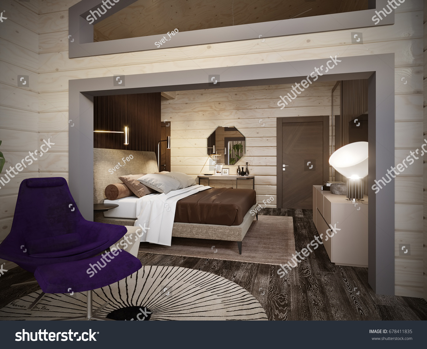 urban contemporary furniture. Urban Contemporary Modern Classic Traditional Hotel Bedroom Interior Design In Wooden House With Blockhouse Walls, Furniture