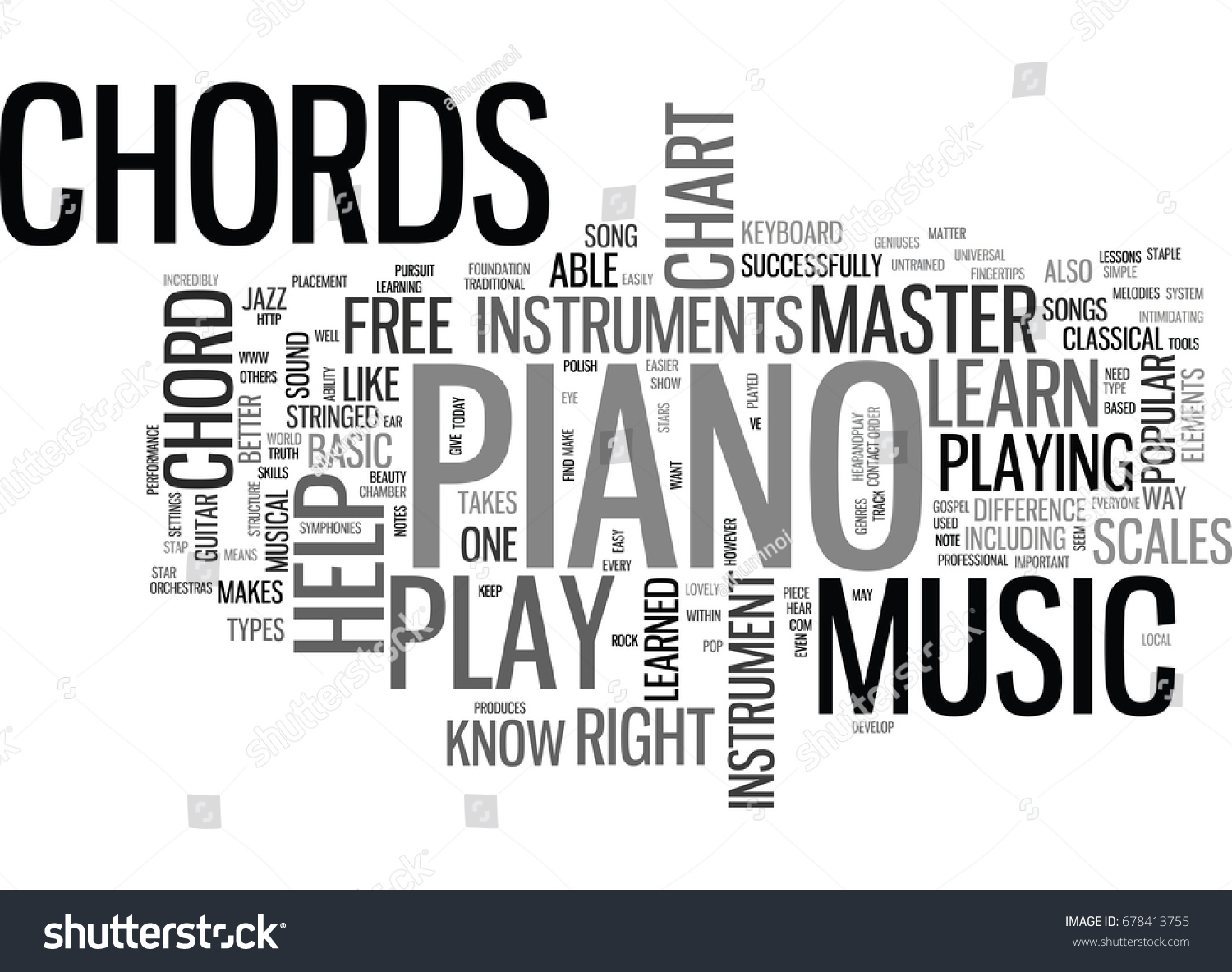 What can free piano chord chart stock vector 678413755 shutterstock what can a free piano chord chart do for you text word cloud concept hexwebz Image collections