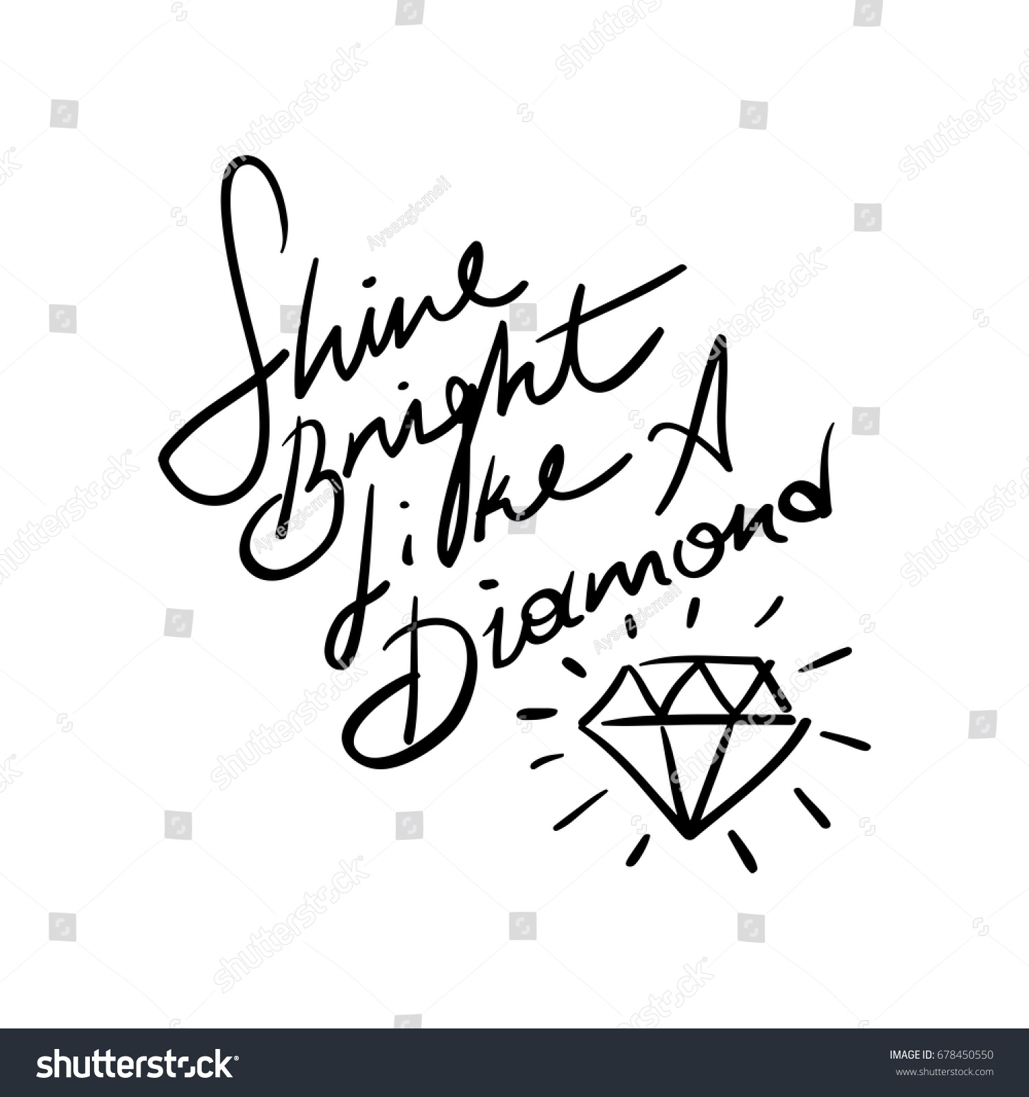 vector bright royalty inspiration free like shine image a diamond quote