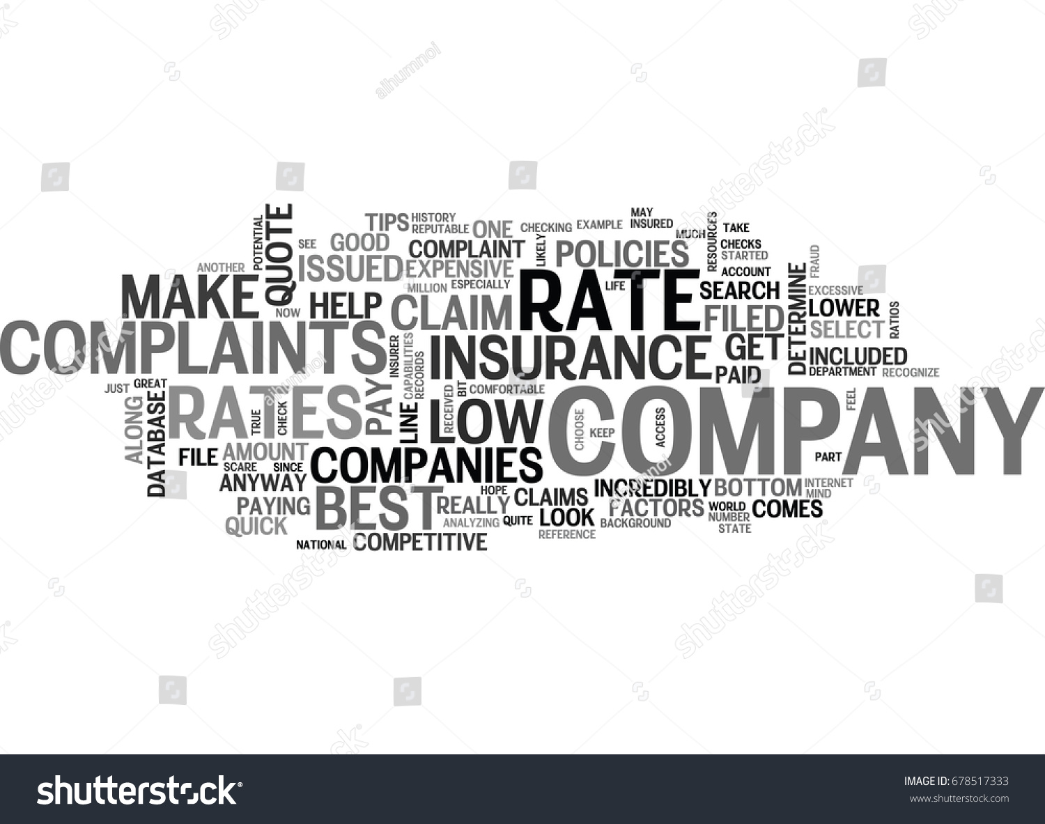 Select A Quote Life Insurance Best Life Insurance Quote How Recognize Stock Vector 678517333