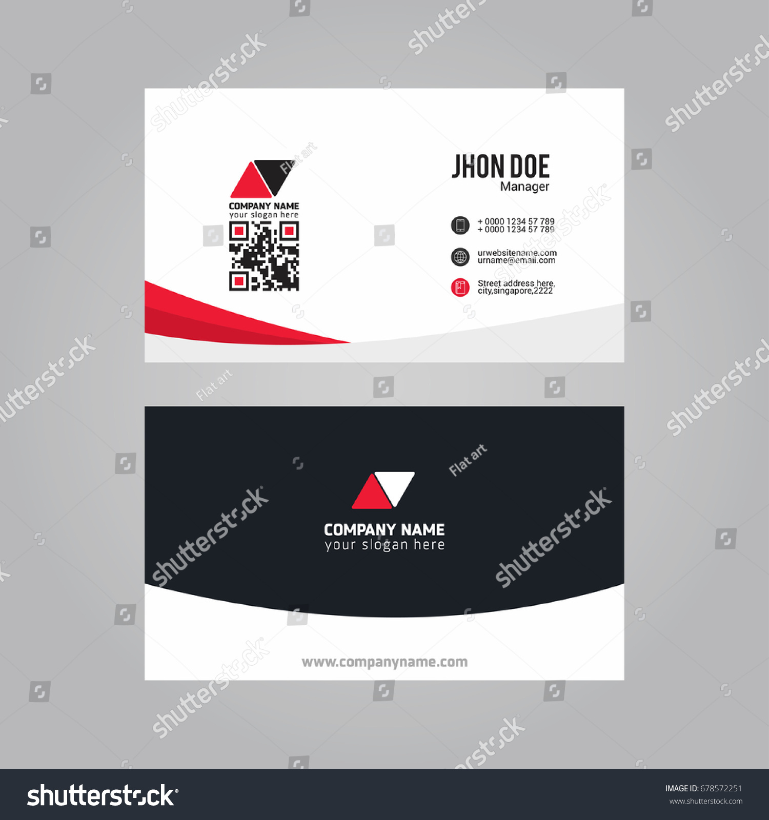 Cute Qr Code On Business Card Photos - Business Card Ideas ...