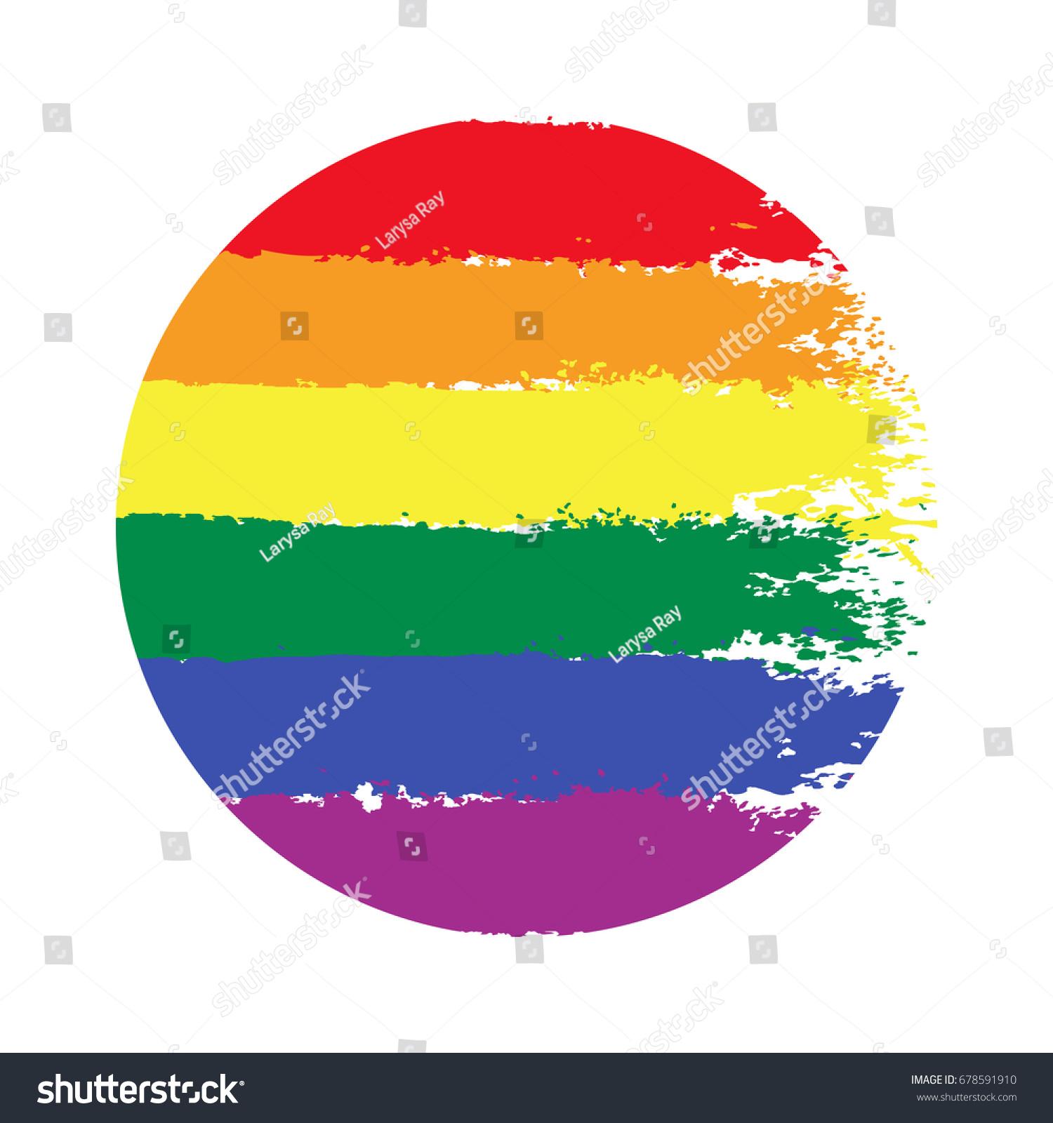 Lgbt gay lesbian pride rainbow texture stock vector 678591910 lgbt gay and lesbian pride rainbow texture vector symbol of gay pride design element buycottarizona