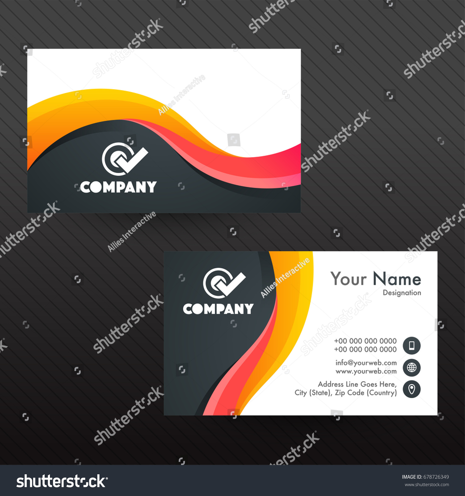 Pretty Professional Business Cards Design Ideas - Business Card ...
