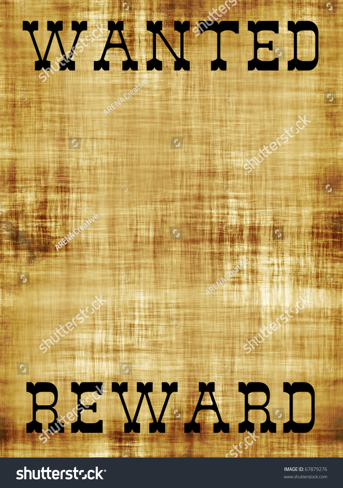 reward poster template – Missing Persons Poster Template
