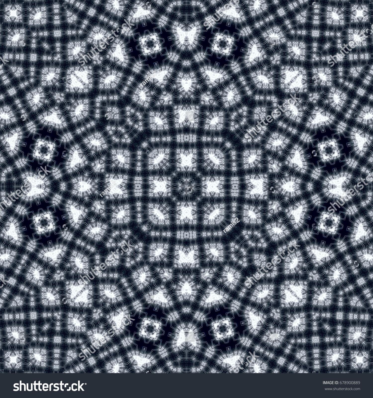 Seamless abstract wallpaper pattern, fractal tiles | EZ Canvas
