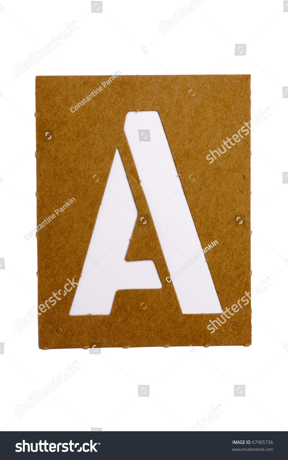 how to make stencil letters in word