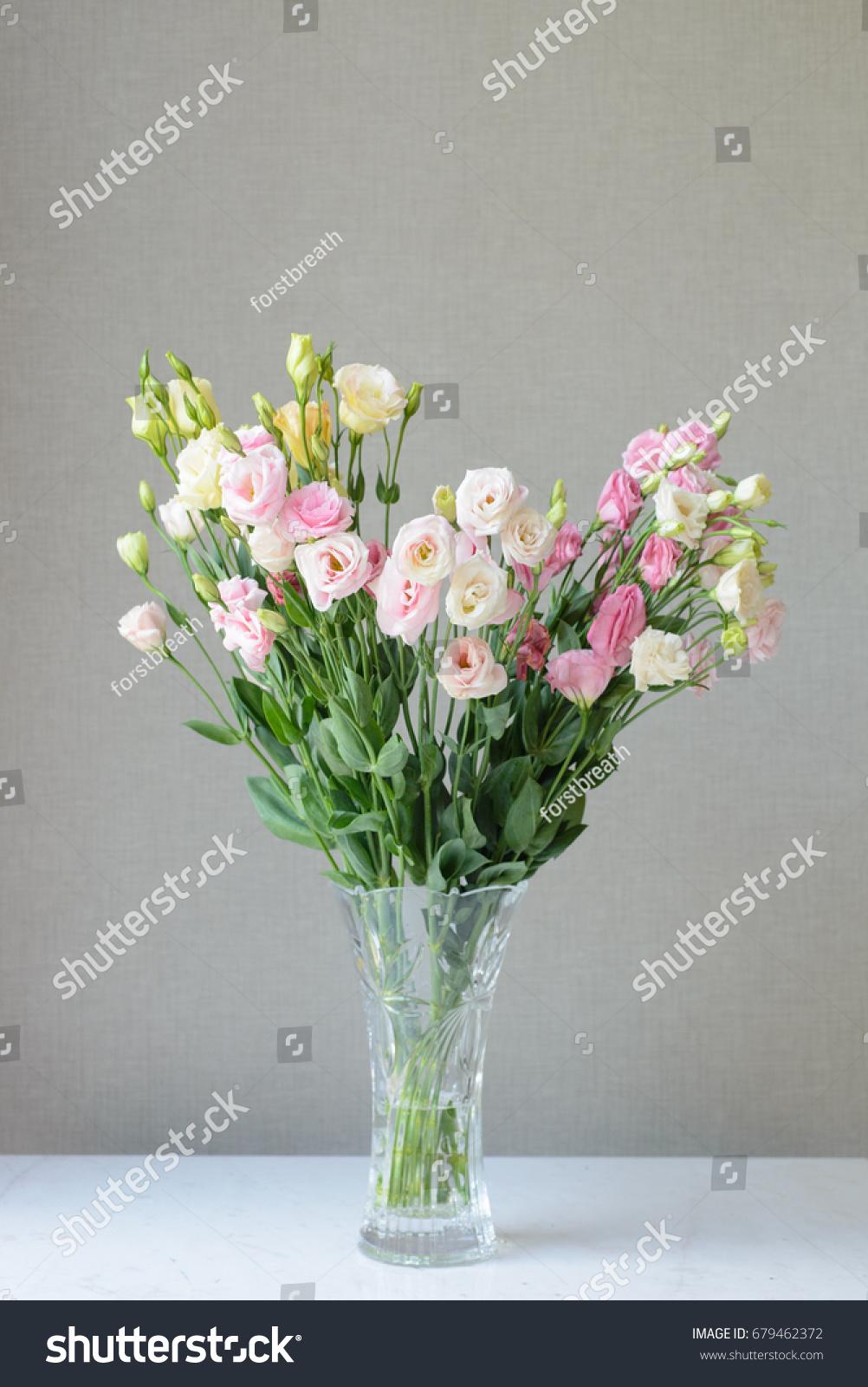 Beautiful flower vase simple background stock photo edit now a beautiful flower vase with a simple background izmirmasajfo