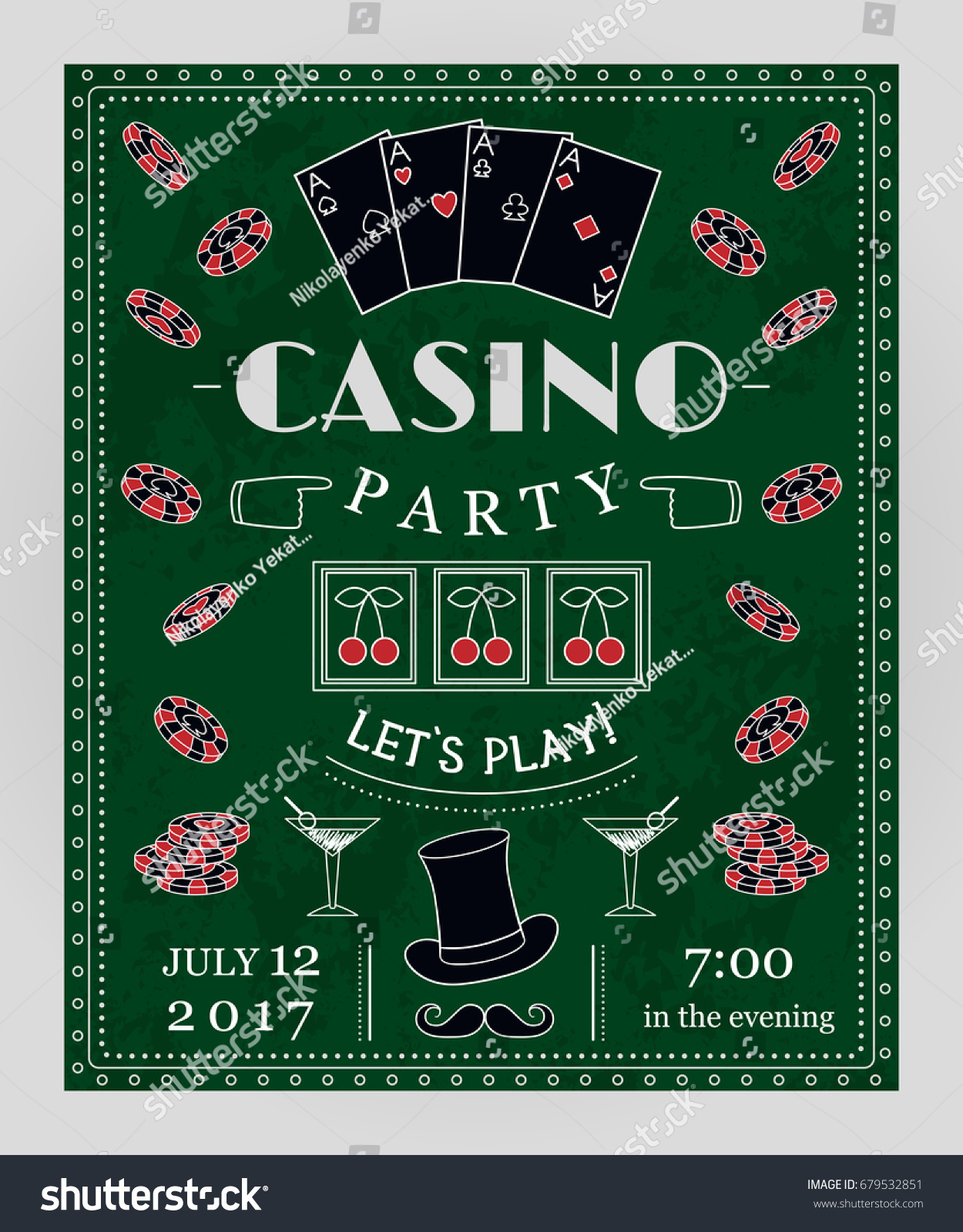 Casino Royale Theme Party Invitations Images - Party Invitations Ideas