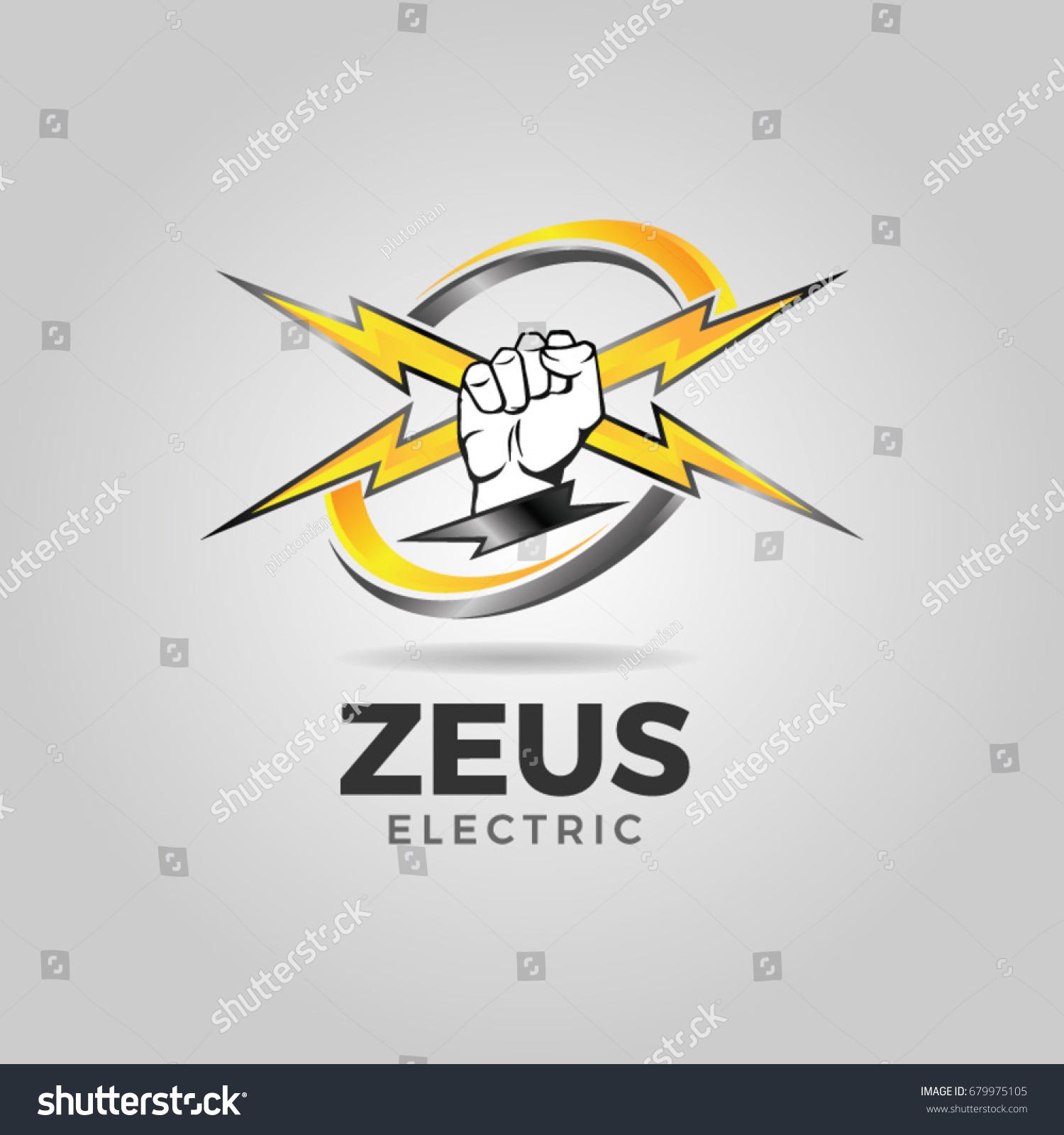 Zeus electric service consultant logo icon stock vector 679975105 zeus electric service consultant logo icon symbol biocorpaavc Images