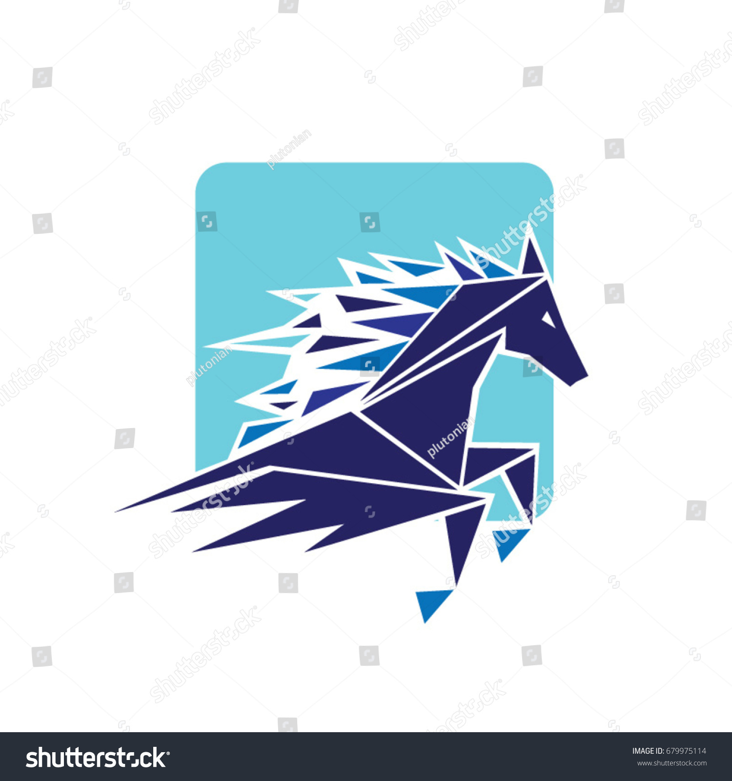 Power Horse Fast Logo Symbol Icon Stock Vector 679975114 Shutterstock