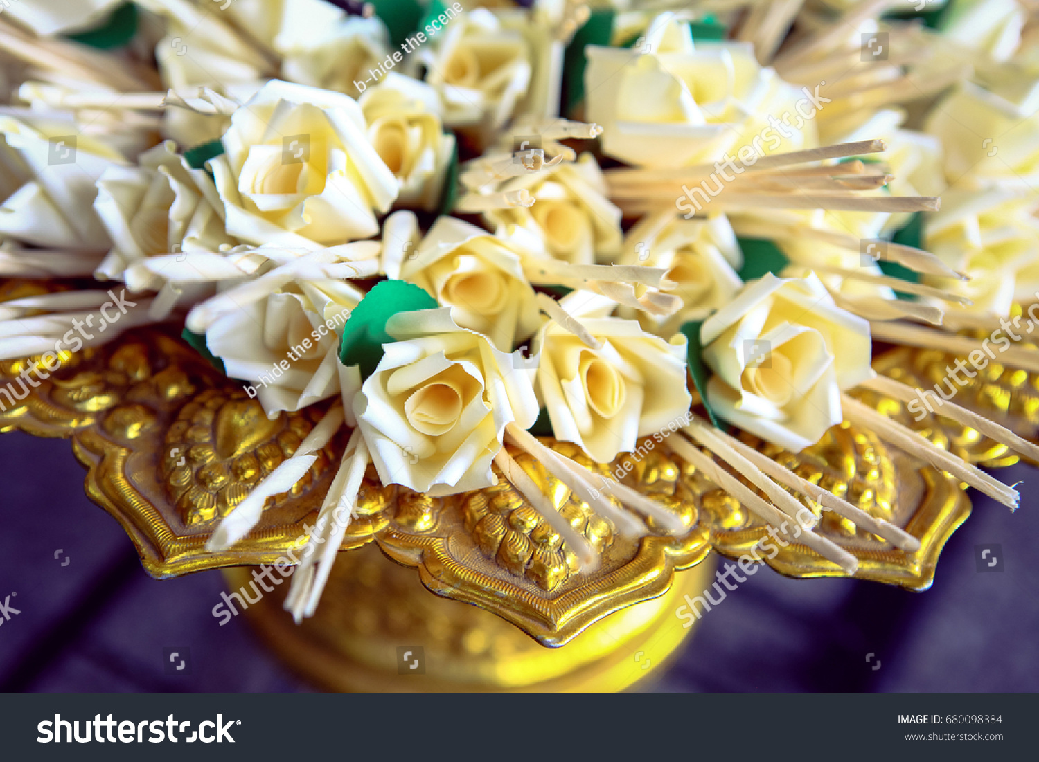 Wreath flowers funeral pyre stock photo royalty free 680098384 wreath of flowers and funeral pyre izmirmasajfo