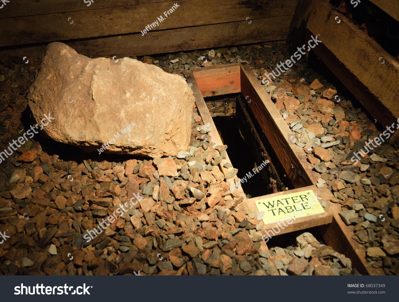 Reed Gold Mine Underground Interior Stock Photo 68037349 ...