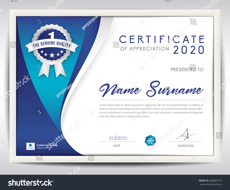 Certificate template vector illustration diploma layout stock certificate template vector illustration diploma layout in a4 size business flyer design advertisement xflitez Image collections