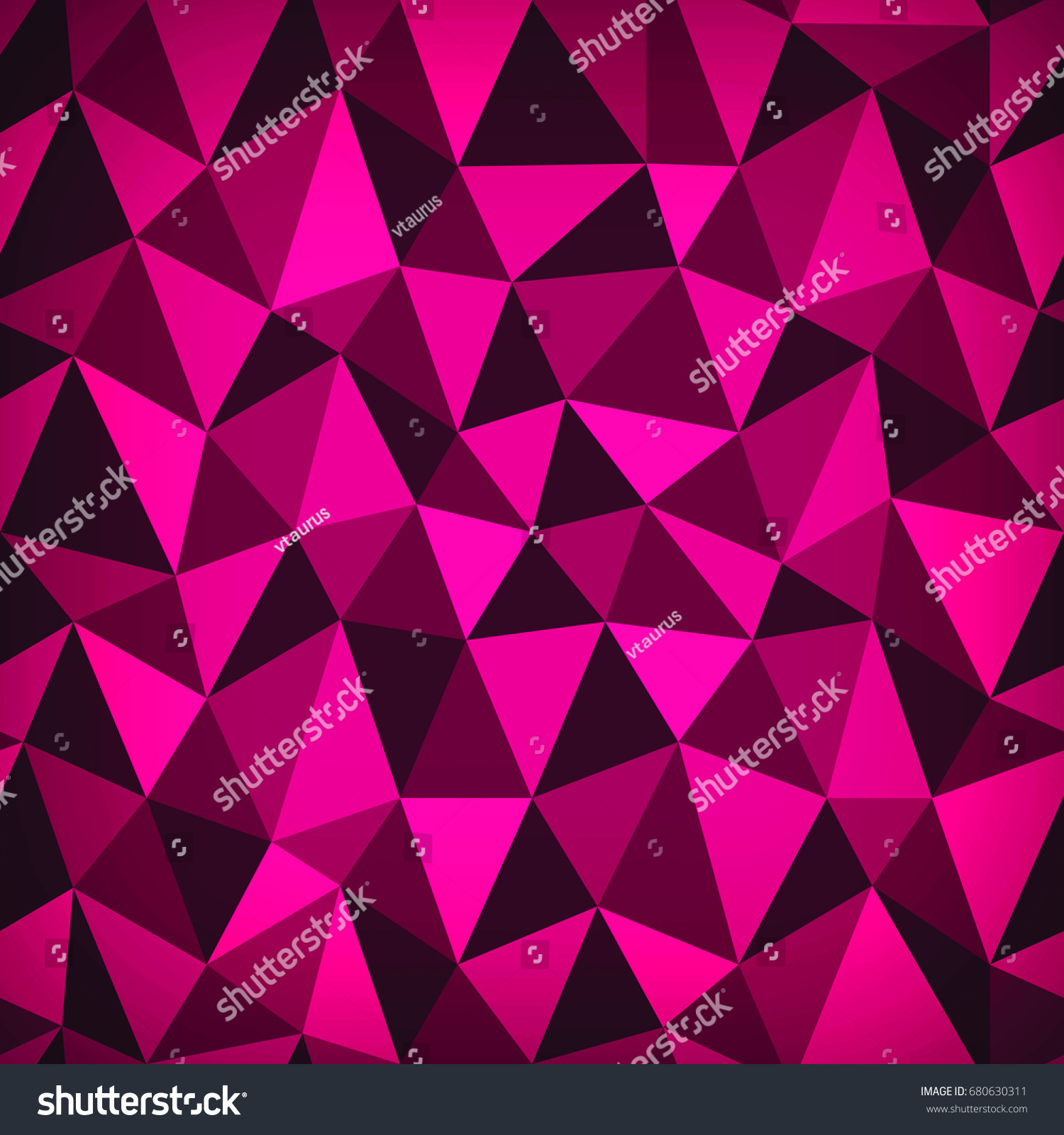 purple polygonal background banner template triangle pattern digital graphic
