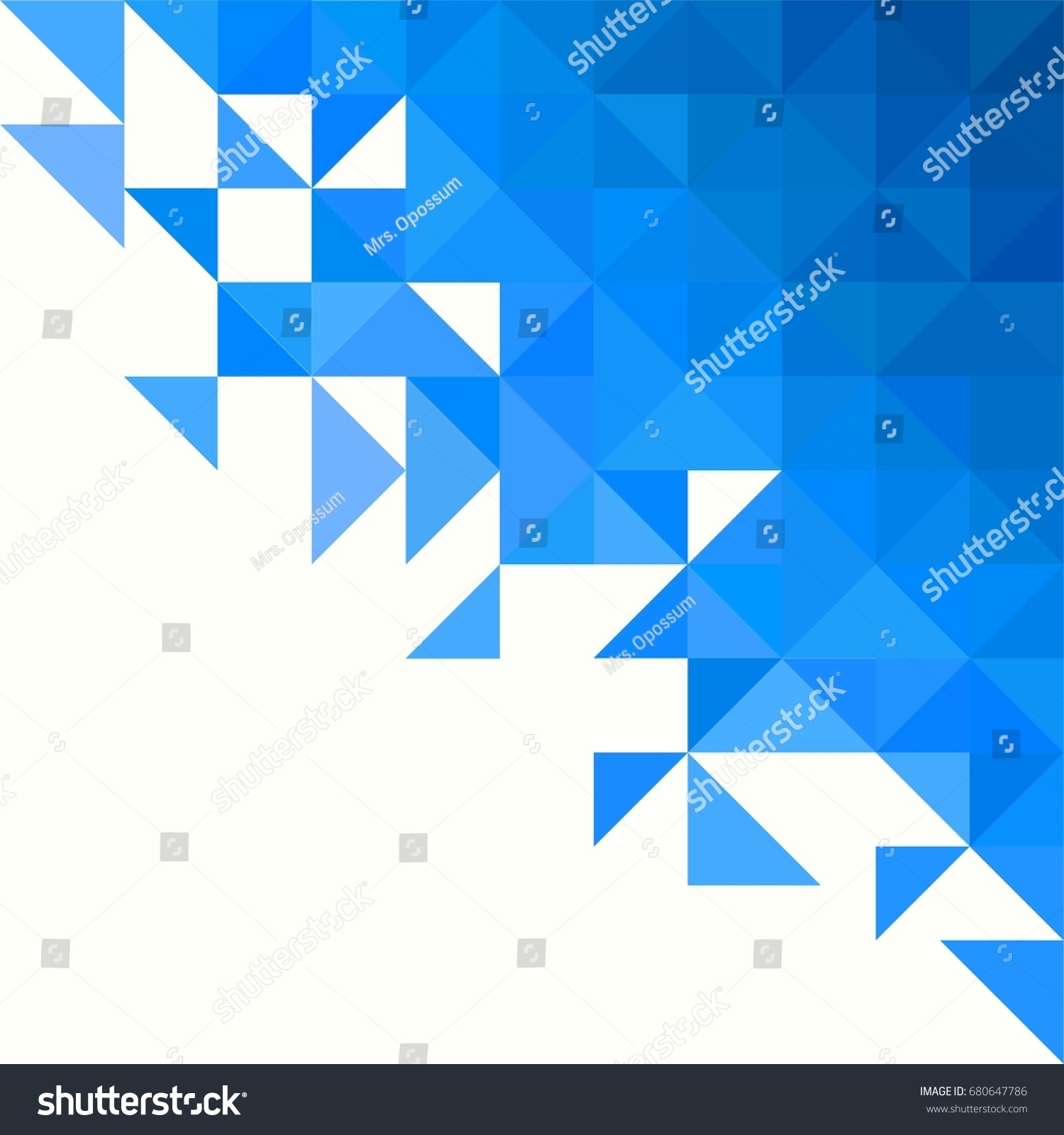 Background Geometric Shapes Colorful Mosaic Pattern Stock Vector ...