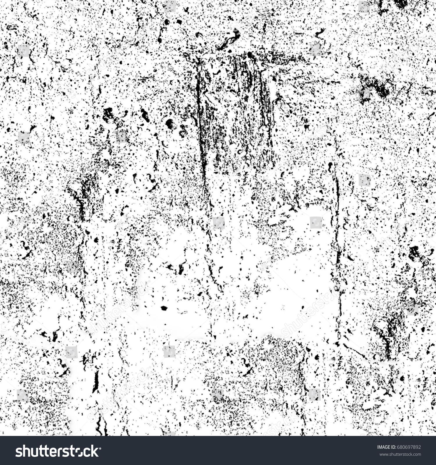 grunge black white abstract texture cracks stock illustration