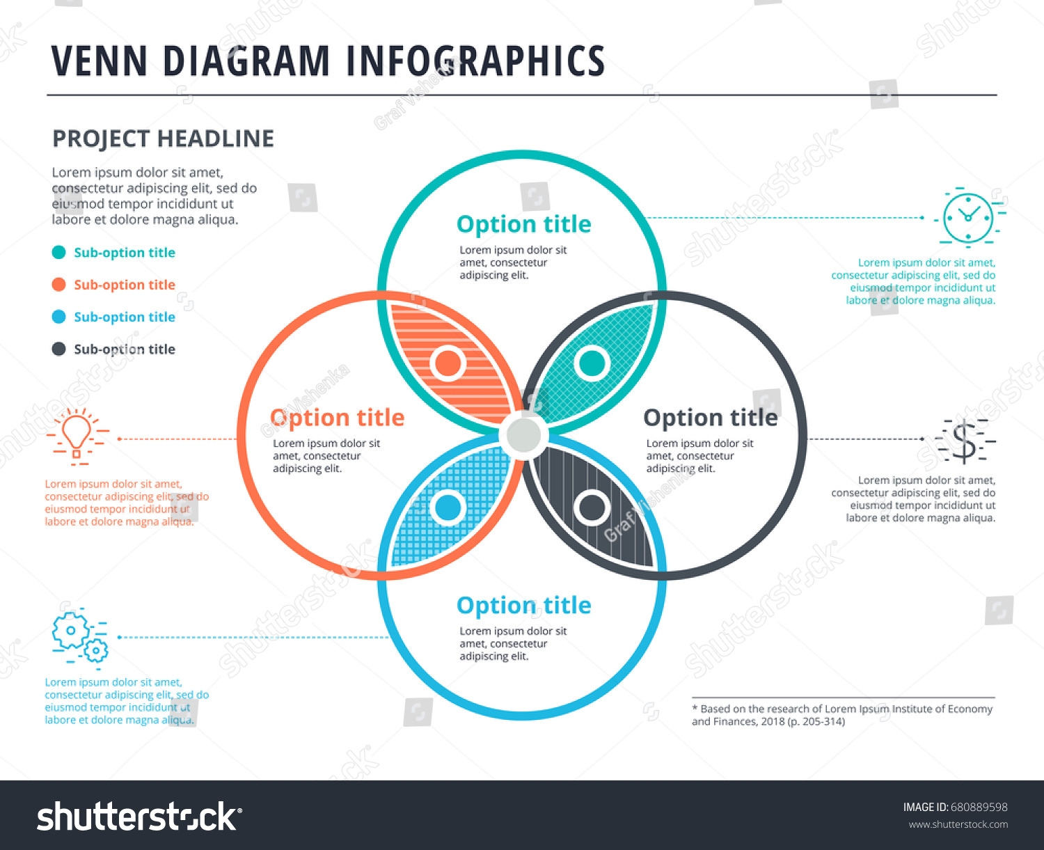 Venn Diagram With 4 Circles Template Image Collections