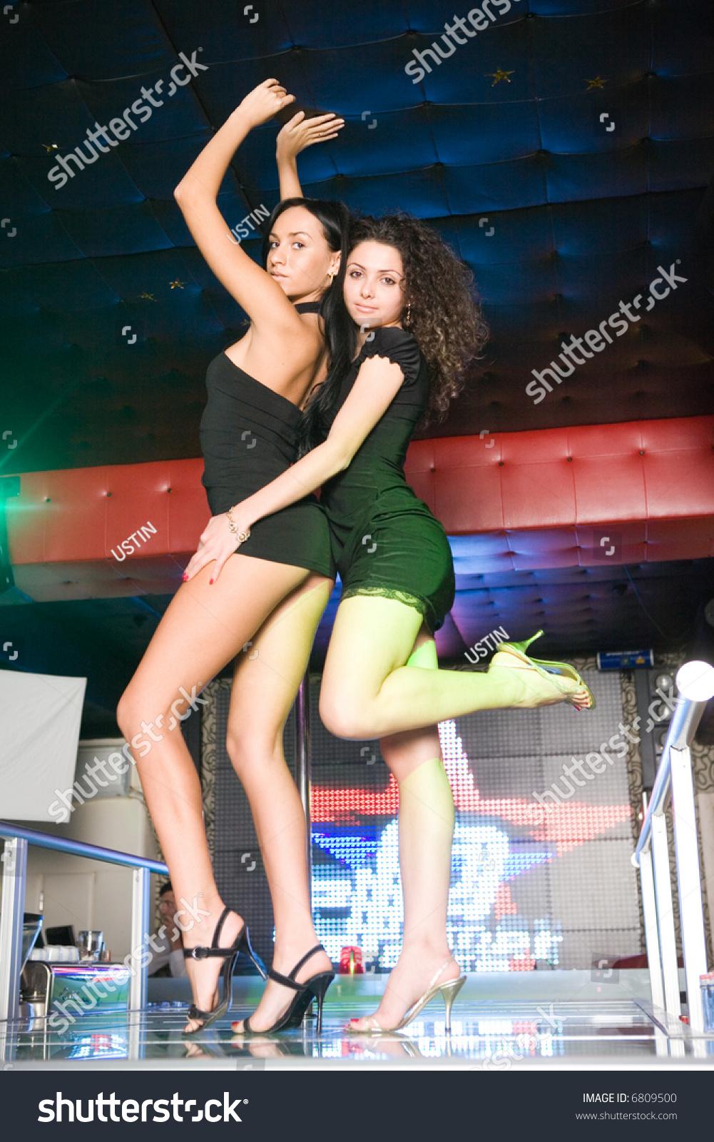 Hot dancing girls