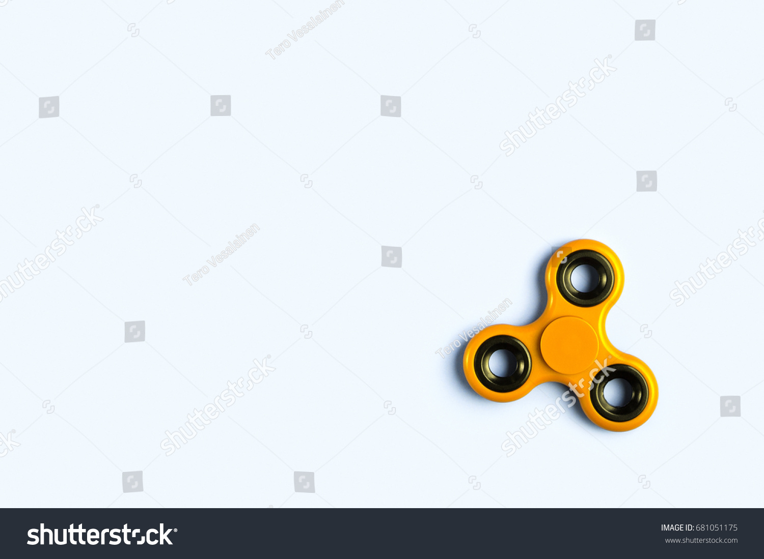 Fidget Spinner Background Template Copy Space Stock Foto 681051175 ...