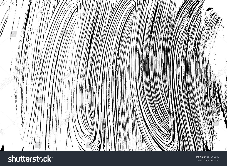 Grunge Soap Texture Invert Distress Black Stock Vector 681060340