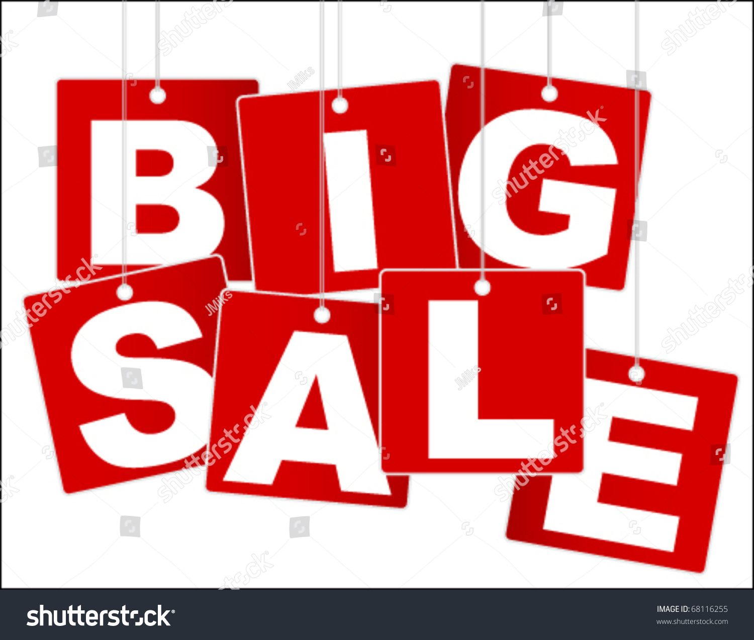 Sale: Big Sale Sign Stock Vector 68116255