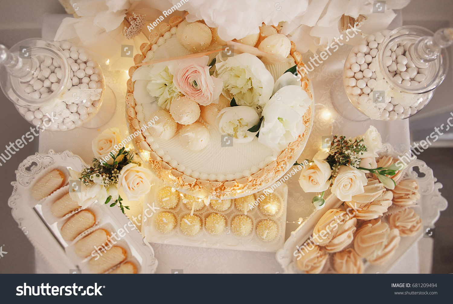 Dessert Table Decoration Baby Shower Cute Stock Photo (Edit Now ...