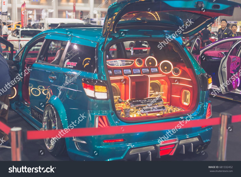 Bangkok July 5 Modified Car Show Stock Photo 681332452 - Shutterstock