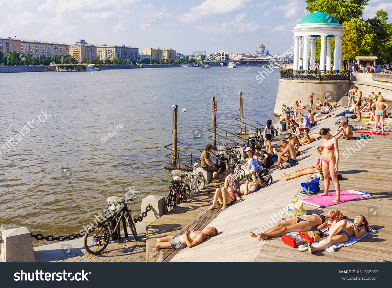 Beach vacation in Moscow 34