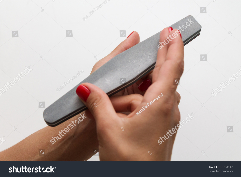 Manicure Nail File Stock Photo 681651112 - Shutterstock