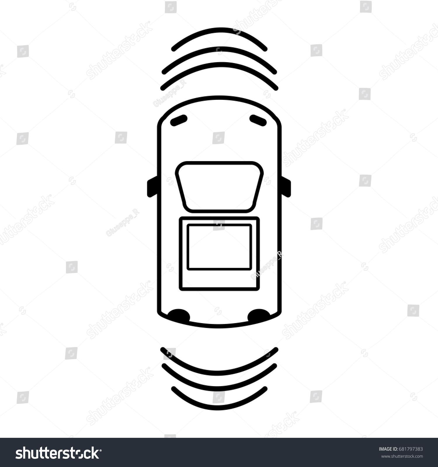 line car transportation above sunroof stock vector 681797383 rh shutterstock com Transmission Clip Art Gas Clip Art