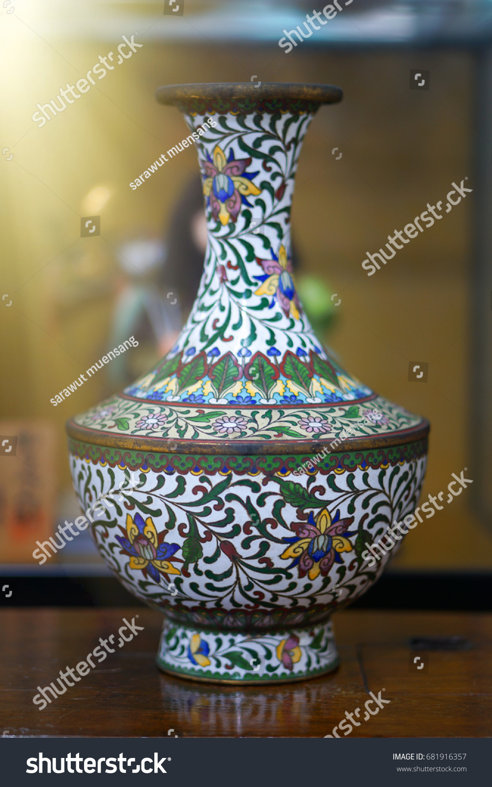 Chinese antique vase stock photo 681916357 shutterstock chinese antique vase reviewsmspy