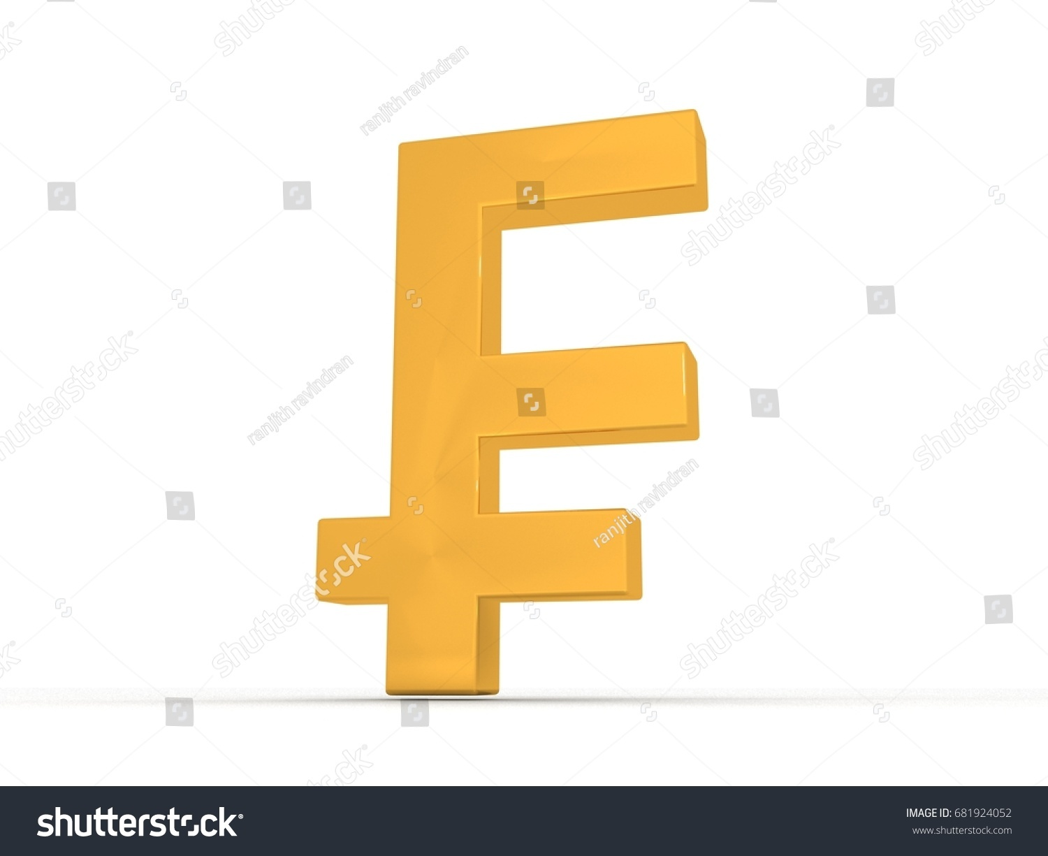 3d rendering swiss franc symbol stock illustration 681924052 3d rendering swiss franc symbol buycottarizona Images