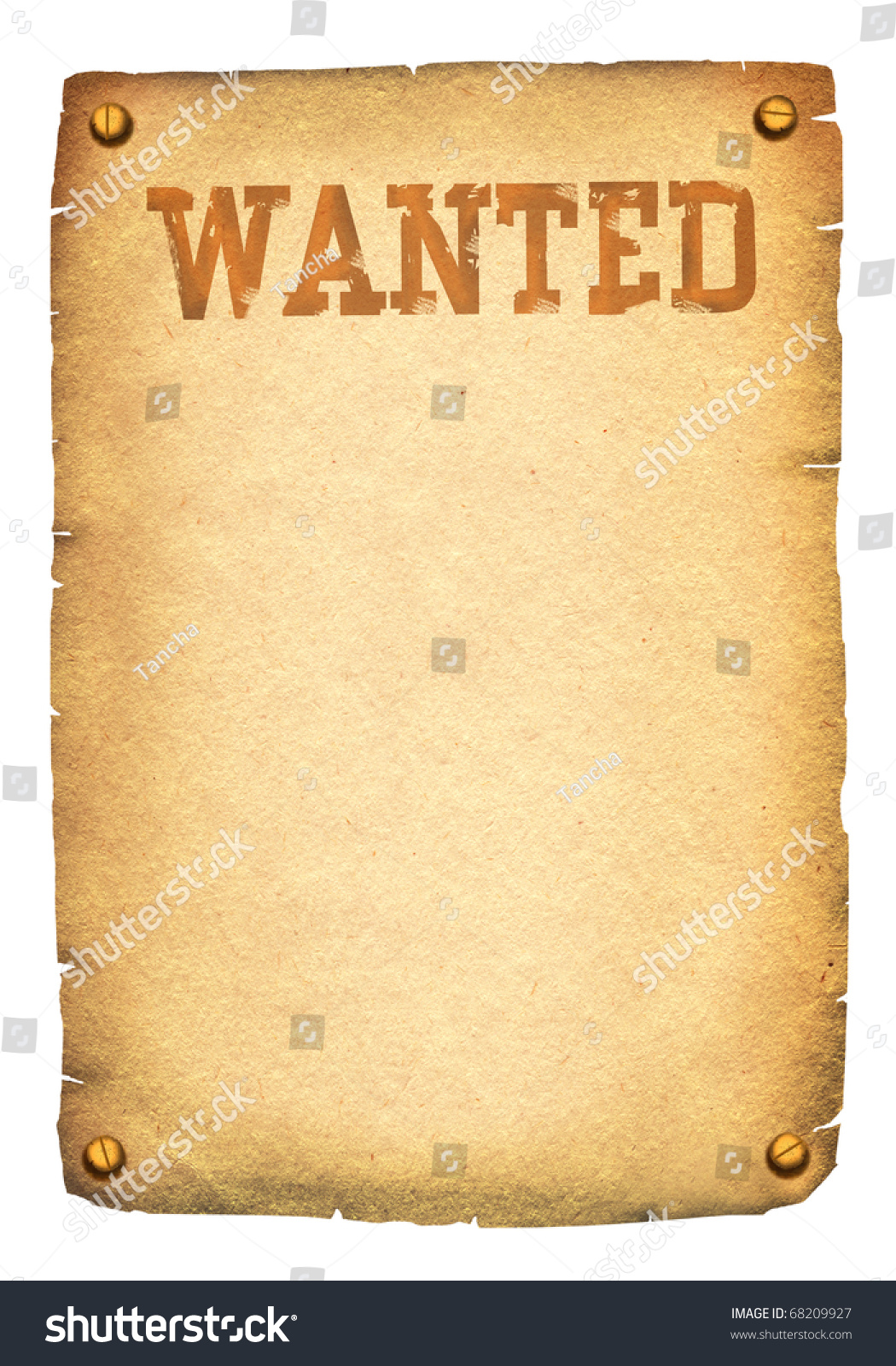 Wanted Posterbackground Stock Illustration 68209927 - Shutterstock